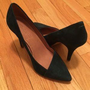 "Madewell size 6.5 like new suede ""Mira"" heels!"